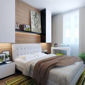 спальня 6 кв м фото декора