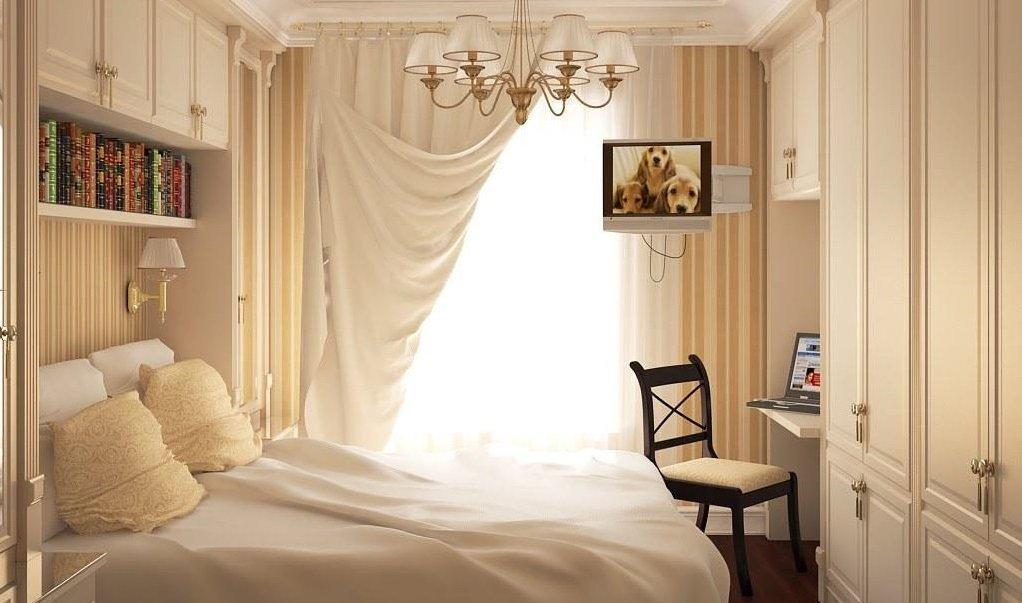 спальня 6 кв м идеи интерьера
