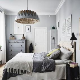 спальня 6 кв м интерьер фото