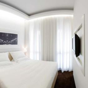 спальня 6 кв м виды интерьера