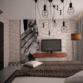 спальня 8 кв м декор