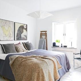 спальня 8 кв м идеи интерьер