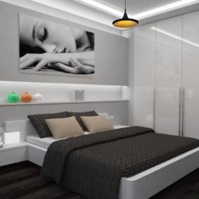 спальня 8 кв м идеи интерьера