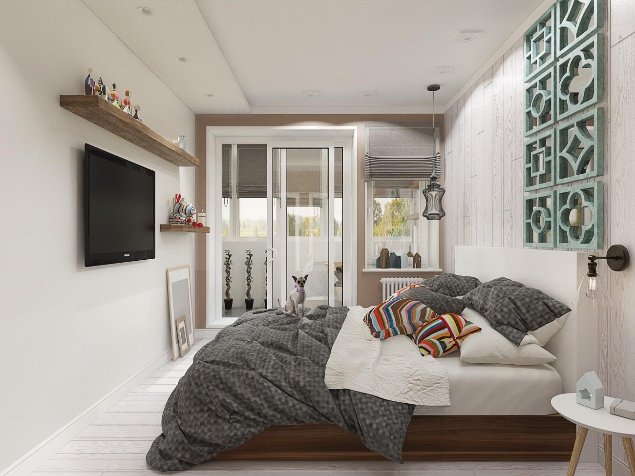 спальня 8 кв м интерьер идеи
