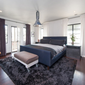 мужская спальня фото