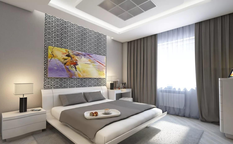 мужская спальня декор фото