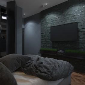 мужская спальня фото дизайна