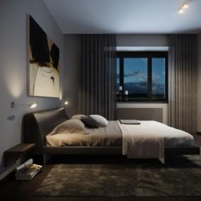 мужская спальня идеи дизайн