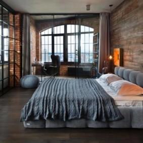 мужская спальня идеи фото