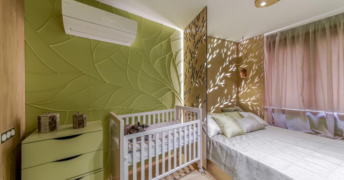 спальня и детская в одной комнате фото видов