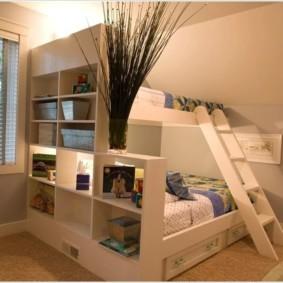 спальня и детская в одной комнате идеи декор