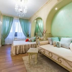 спальня и детская в одной комнате варианты