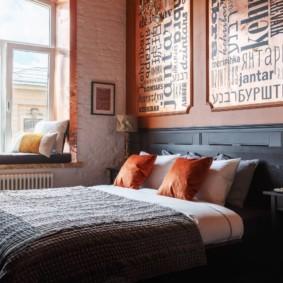 спальня площадью 17 кв м дизайн фото