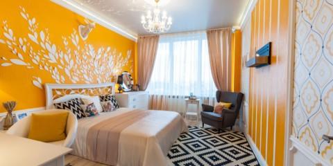 спальня площадью 17 кв м фото