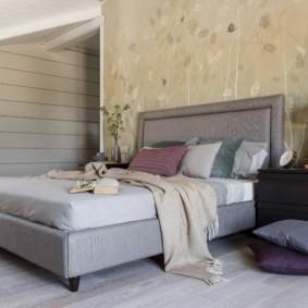 спальня площадью 17 кв м фото декор