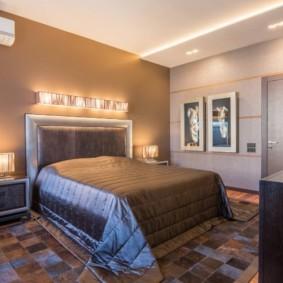 спальня площадью 17 кв м идеи оформления