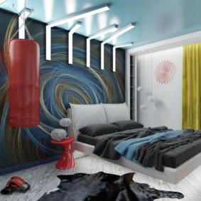 спальня площадью 17 кв м интерьер