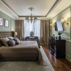 спальня площадью 17 кв м интерьер идеи