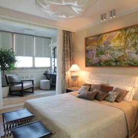 спальня площадью 17 кв м оформление фото