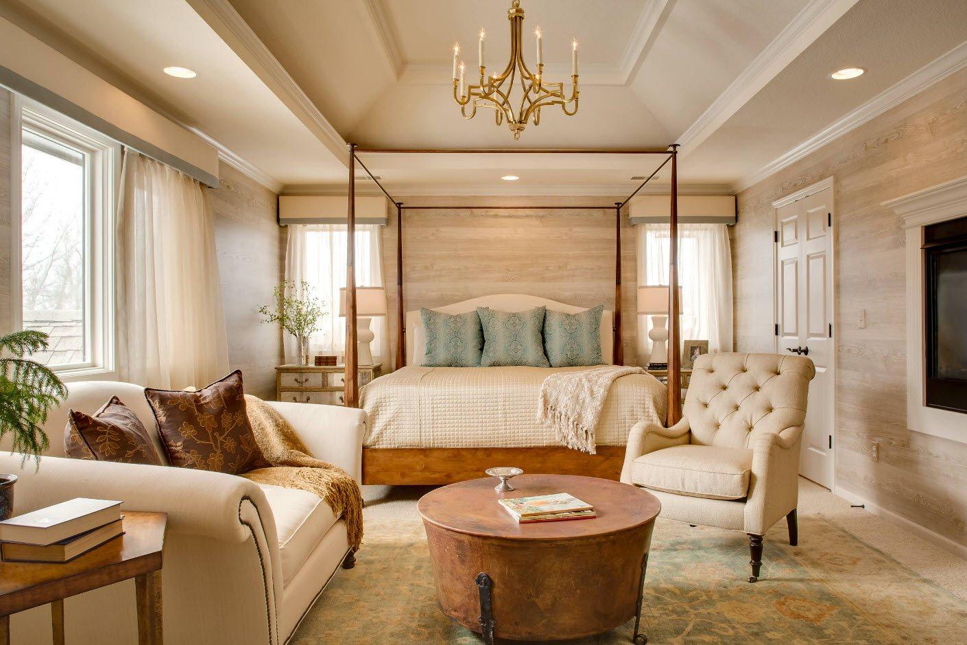 спальня площадью 17 кв м оформление