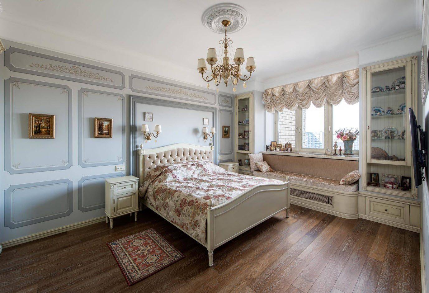 спальня площадью 17 кв м варианты фото