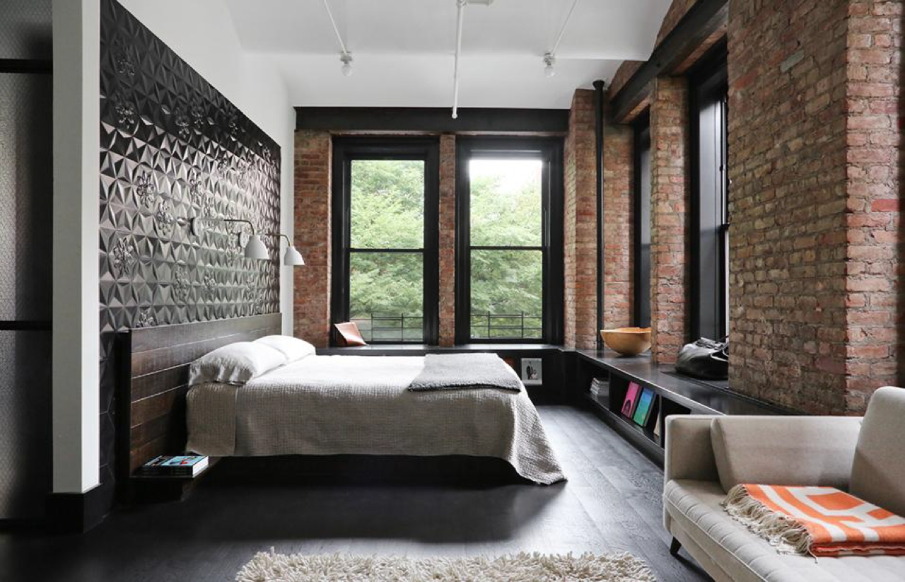 спальня площадью 17 кв м