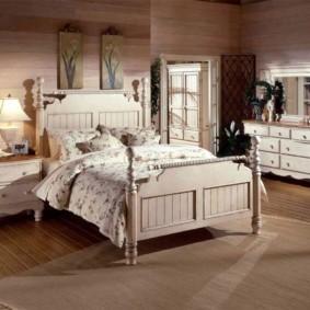 спальня в бежевых тонах декор фото
