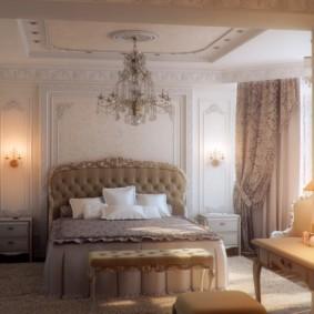 спальня в бежевых тонах декор идеи