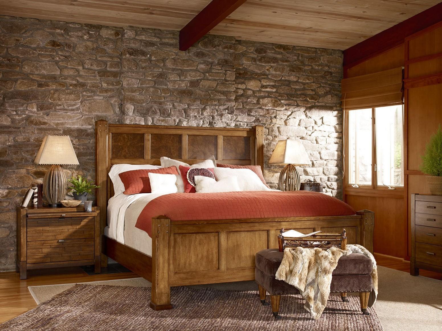 спальня в стиле кантри фото интерьер старших братьев