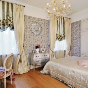 спальня в бежевых тонах фото дизайна