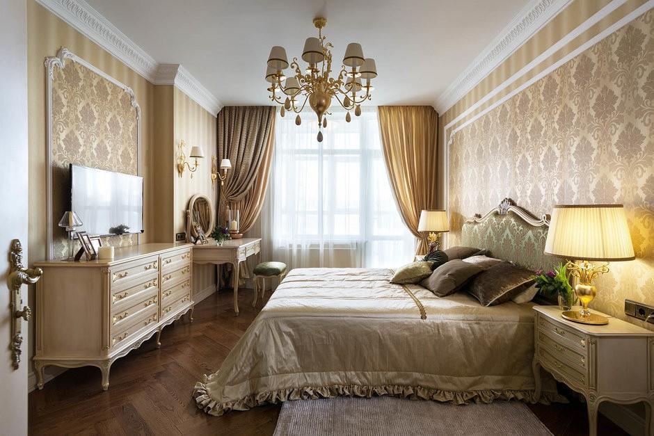 спальня в бежевых тонах фото вариантов