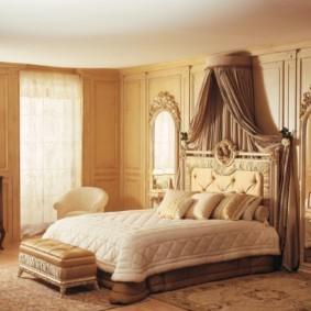 спальня в бежевых тонах фото варианты