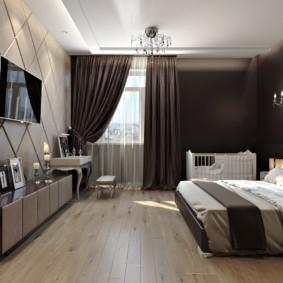 спальня в бежевых тонах идеи дизайн