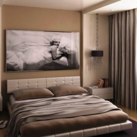 спальня в бежевых тонах идеи интерьер