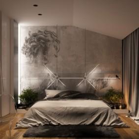спальня в бежевых тонах интерьер фото