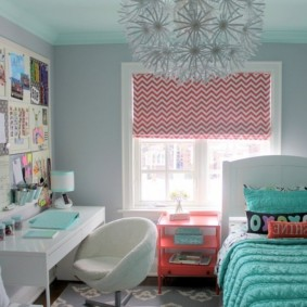 спальня в бирюзовых тонах варианты фото