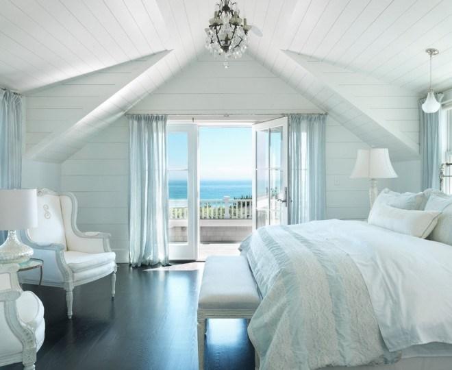спальня в голубом цвете интерьер идеи