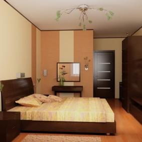 спальня в хрущевке фото интерьера