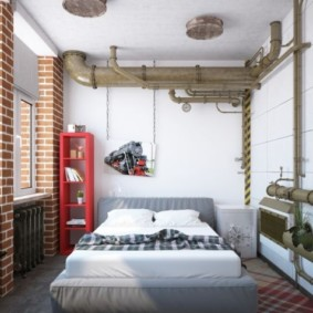 спальня в хрущевке оформление фото