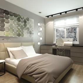 спальня в хрущевке виды дизайна