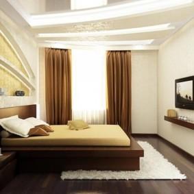 спальня в хрущевке виды интерьера