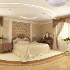 спальня в классическом стиле фото декор