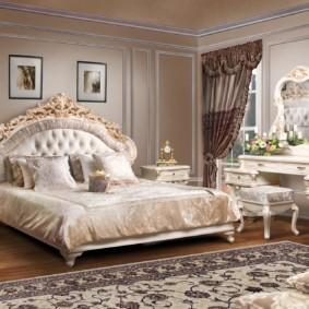 спальня в классическом стиле фото идеи