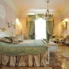 спальня в классическом стиле фото варианты