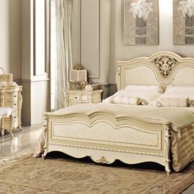 спальня в классическом стиле фото виды