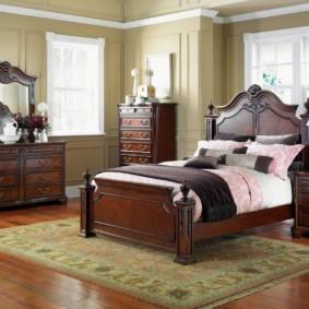 спальня в классическом стиле идеи оформление