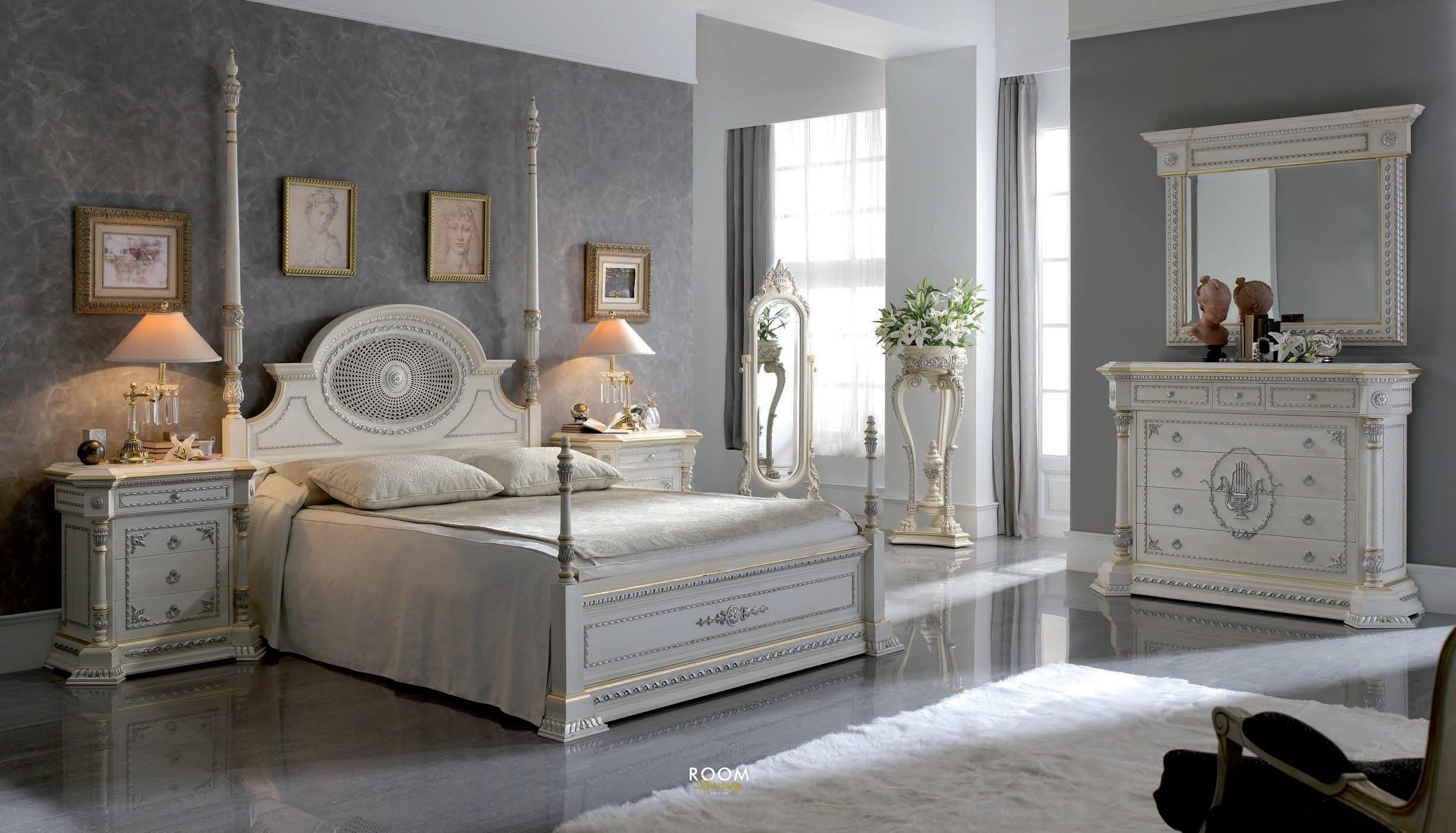 спальня в классическом стиле оформление