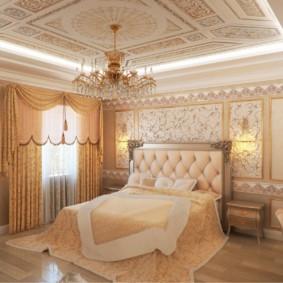 спальня в классическом стиле варианты