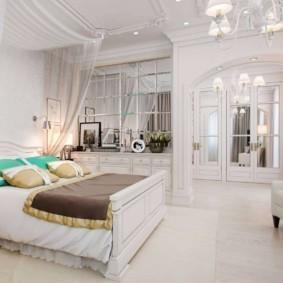 спальня в классическом стиле варианты фото