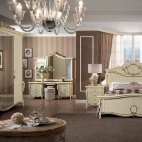 спальня в классическом стиле виды фото